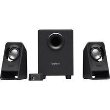 Logitech Z213 3 Piece 2.1 Multimedia Computer Speaker System - Black 980-000941