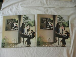 2 COPIES of PINK FLOYD UMMAGUMMA 1971 UK PRESS - 1 WITH & 1 WITHOUT LABEL ERRORS