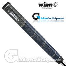 WINN Excel MEDALLIST JUMBO PISTOLA LITE Putter Grip-Blu Navy / Grigio / Giallo