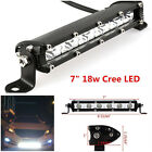 18W CREE LED Light Ultra Slim Spot Work Fog Driving Lamp Off-Road Car Truck SUV#