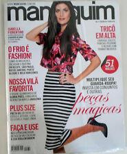 MANEQUIM MAGAZINE 676 JULY 2015 BRAZIL - W/ SEWING PATTERNS