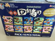 Re-ment Miniature Sushi Go Around New in Bags With Boxes Megahouse Dollhouse