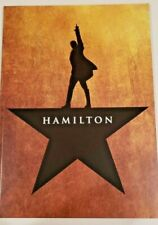 Official Hamilton The Musical Broadway Souvenir Program Book Lin-Manuel Miranda*