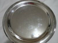 """Vintage Rogers Bros Serving Tray Springtime 14"""" 1847IS Silver Plate"""