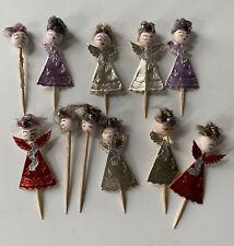 11 Vintage Spun Cotton Angel Picks Made In Japan