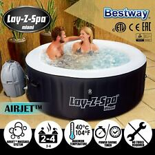 Bestway Lay Z Spa Inflatable Spas Bath 2-4 Person Portable Outdoor Spa Hot Tub