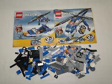 Lego Creator 4995 Frachthubschrauber 3-in-1 komplett mit Anleitung OBA