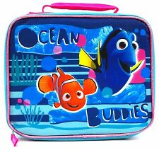 Finding Dory Ocean Buddies Dory and Nemo Soft, Glittery Lunch Bag by Disney