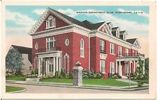 Womans Department Club in Shreveport LA Postcard