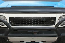 Custom Steel Aftermarket Grille fits 2007-14 Toyota FJ Cruiser Grill Satin Black