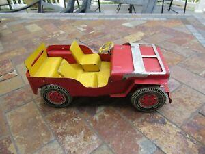 "Vintage MARX Pressed Steel ""Willy"" Jeep"