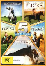Flicka 1 2 and 3 My Friend Flicka Thunderhead Son of Flicka (DVD, 2012, 5 Discs)