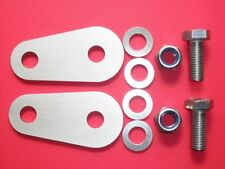 TVR Chimaera Seat Belt Extenders. 4mm stainless steel with free uk postage