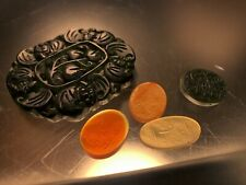 A Collection of Antique Islamic Amulet Talisman Hand Engraved Stones Jade Agate
