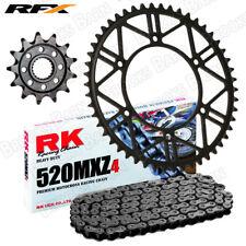 For KTM 125 SX 91-16 RK MXZ4 520 Chain & RFX Sprocket Kit HCS 13/50 Teeth