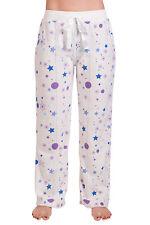 Women Ladies Teen Fleece Pajama Lounge Sleepwear Comfy Sleep Warm PJ Pants