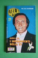 TELE SETTE 48/1986 MARILYN MONROE PIPPO BAUDO STEFANIA BETTOJA ZUZZURRO GASPERE