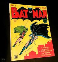 Batman Comics # 1 1940 Oversized Golden Age Replica ☆☆☆☆ 1st Joker