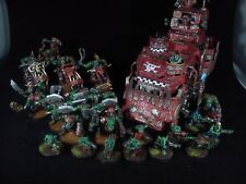 Ork army 5 warhammer 40k PAINTED