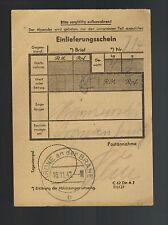1942 Krone Germany Money Oranienburg Concentration Camp Kz Johann Niemcsewski 2