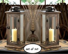 Arts & Crafts/Mission Style Metal Candle Lanterns for sale | eBay