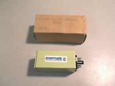 NEW COMAT, FISHER DIE CAST MACHINE RELAY NSR 4, CH-3076 FREE SHIPPING