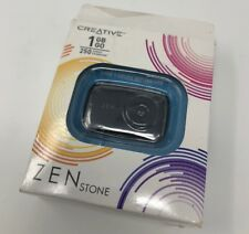 Creative Zen Stone 1GB MP3 Player Black - New In Open Outside Box - Look