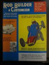 Rod Builder & Customizer October 1958 The Silva Bullet Jimmy Bryan Durso's (Y3)