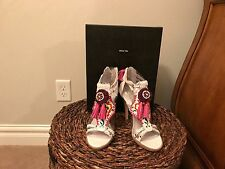 Dolce Vita Cauzzie Aztec White/ Multi Colored Beads Sandals