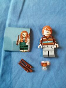 1 minifigure Lego serie Harry Potter Ron Weasley Neuve