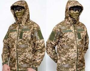 Soft Shell GEN III LEVEL 5 Ukrainian army Digital Camo MM14 Pixel Uniform( new )