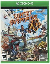 XBOX ONE GAME SUNSET OVERDRIVE BRAND NEW FACTORY SEALED