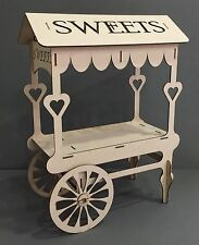 Y74 Weddings Parties Celebrations Birthdays CANDY CART MDF Christening Xmas