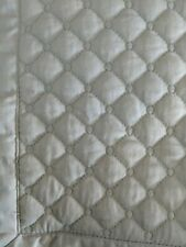 Pair Charter Club Damask Diamond Quilted ~ King ~ Shams Mint Ice Green