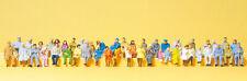 "Preiser 14416 H0 Figures "" Sitting persons. 48 Miniatures "" # New original"