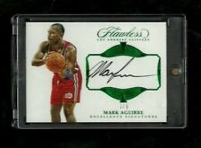 Mark Aguirre Flawless EXCELLENCE SIGNATURES EMERALD Auto #/5! RARE! NBA LEGEND!