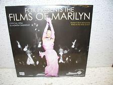 2014 Films Of Marilyn Monroe 16 Month Calendar Brand New Sealed