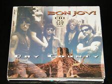 BON JOVI Dry County Rare German Limited Gold Signature Edition 6-track 2 CD Set