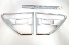 FOR NEW FORD RANGER 2013 WILD TRAK PICK UP CHROME SIDE VENT SIDE DOOR COVER TRIM
