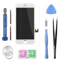 PANTALLA COMPLETA LCD + TACTIL + HERRAMIENTAS APPLE IPHONE 8 PLUS BLANCO