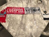 Liverpool FC Football UCL Final 18/19 Scarf LFC Half and half Spurs