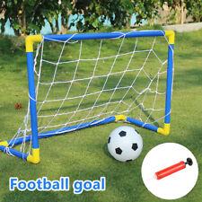 Football Soccer Goal Post Toys Children Net Practice Training Sports Kids BR