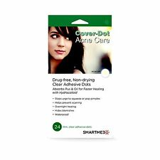 [Perforated] Cover-Dot-Acne Care - Clear Acne Absorbing Patch 24 dots