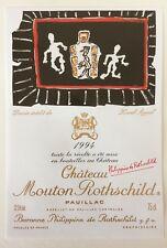 Étiquette  Mouton Rothschild 1994 - 75 cl