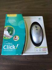Logitech Cordless Click! Wireless Optical Mouse 2003 Fast RF Optical
