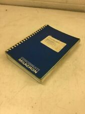 Cincinnati Milacron Programming Manual for Sabre/Arrow Acramatic 2100E, 91202938