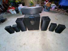 New ListingOnkyo 7.1 Surround Sound Speaker System - 7 Speakers + Subwoofer - Black