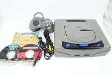 Sega Saturn  Console  Gray  Tested Working Japan HST-3220
