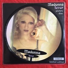 "MADONNA - Fever - UK 7"" Picture Disc (Vinyl) + Individually Numbered Insert"