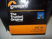 LOWEPRO Edit 110 Digital Video Bag Black NWT